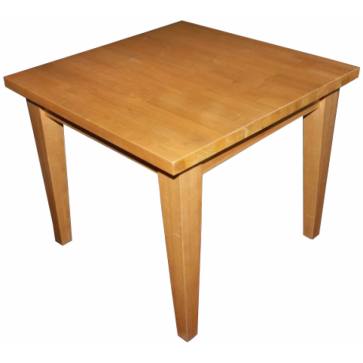 2 Seater Square Table Solid Wood