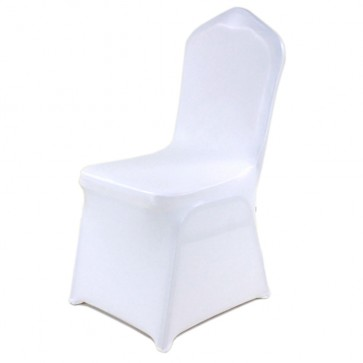 White Spandex Banqueting Chair Covers