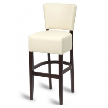 Hyde Luxe Bar Stool - Ivory