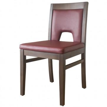 Windsor Side Chair Walnut / Wine