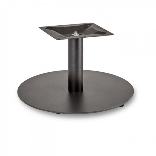 Coffee Height Round Large Table Base Round Column