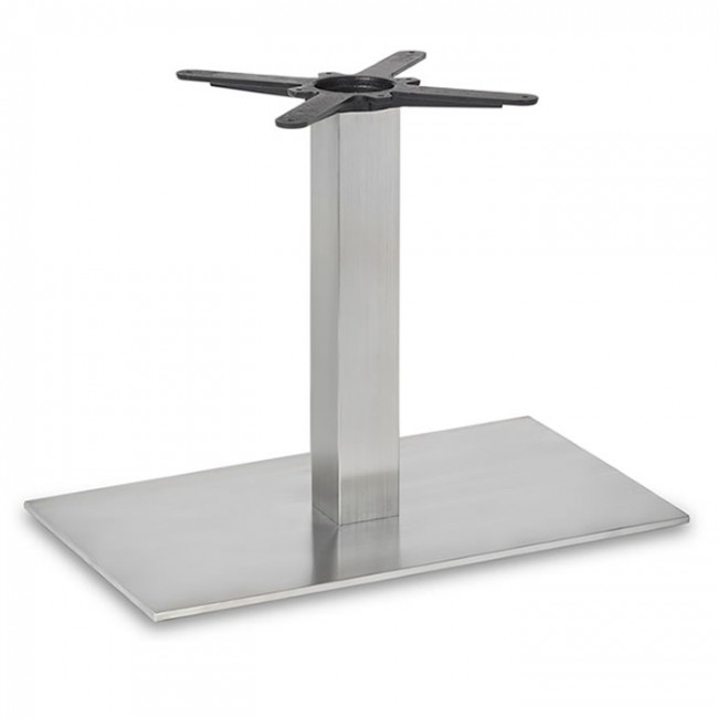 Fleet lounge height rectangle table base square column