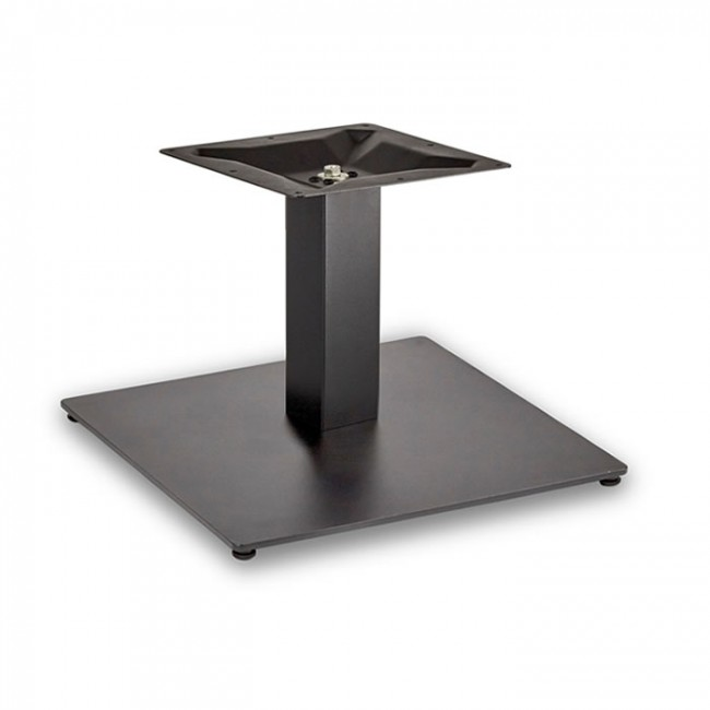 Trafalgar Coffee Height Square Large Table Base Square Column
