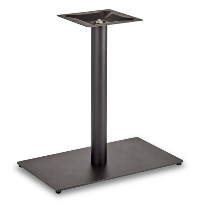 Square Rectangular Modern Dining Table Legs Industrial: Dining Height Rectangle Table Base (Round Column