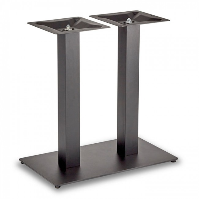 Square Rectangular Modern Dining Table Legs Industrial: Dining Height Rectangle Twin Table Base