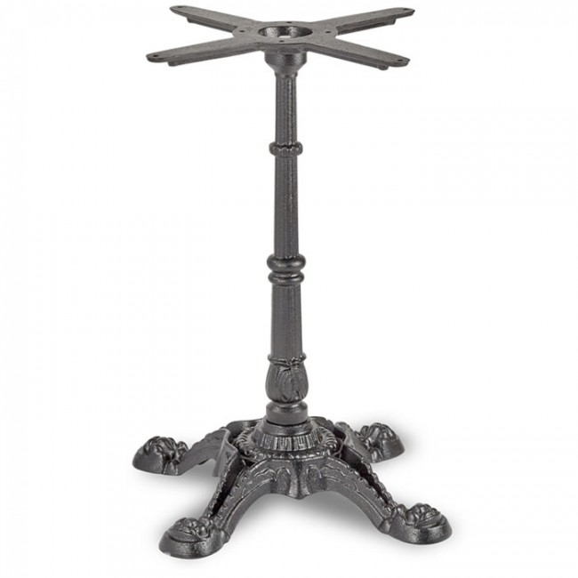 Bistro Dining Height Table Base 4 Leg