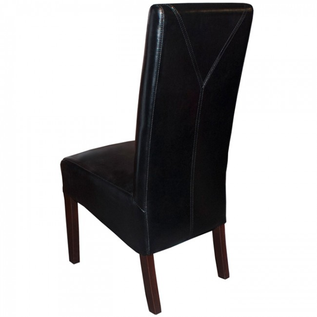 Covent High Back Dining Chair Black