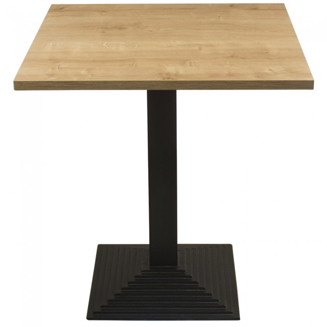 Forest oak complete mayfair step 60cm table for Table 60x60 design