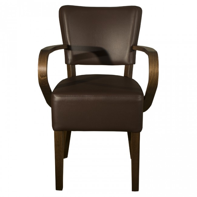 Belmont Brown Faux Leather Arm Chair : dsc01314 from www.mayfairfurniture.co.uk size 650 x 650 jpeg 32kB
