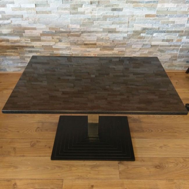Used Polished Stone Top Coffee Table