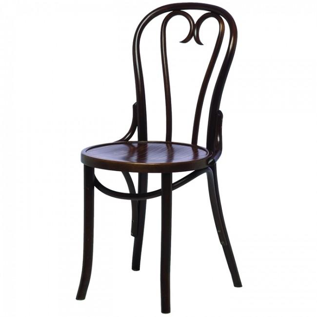 Bentwood Myra Side Chair Walnut