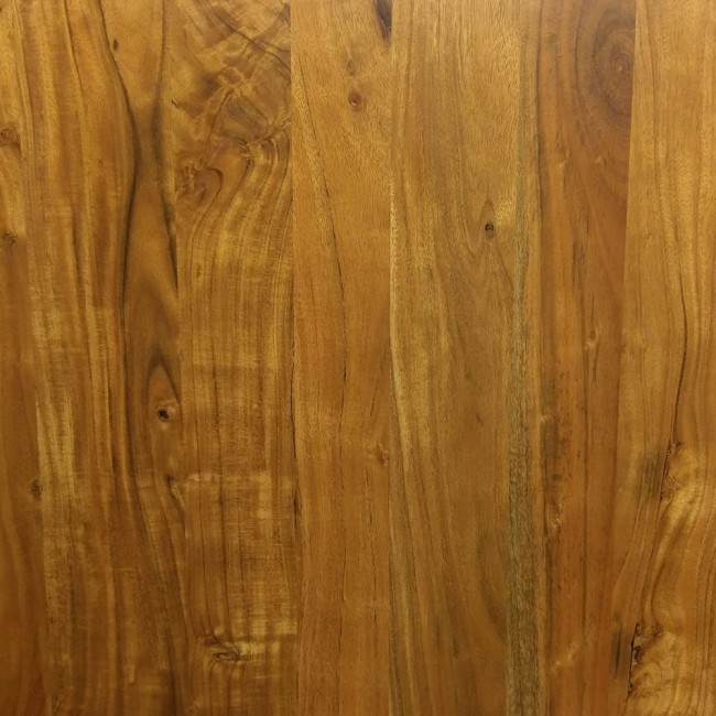 38mm Solid Acacia Wood Honey Pine Finish
