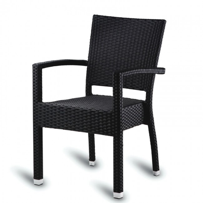 Malta weave outdoor arm chair for Outdoor furniture malta