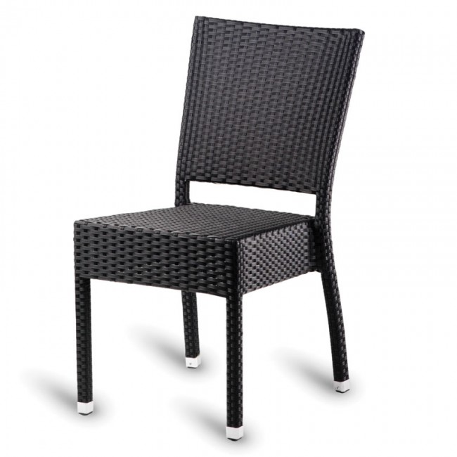 Malta weave outdoor side chair for Outdoor furniture malta