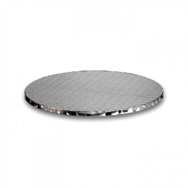stainless steel table top 60cm round. Black Bedroom Furniture Sets. Home Design Ideas