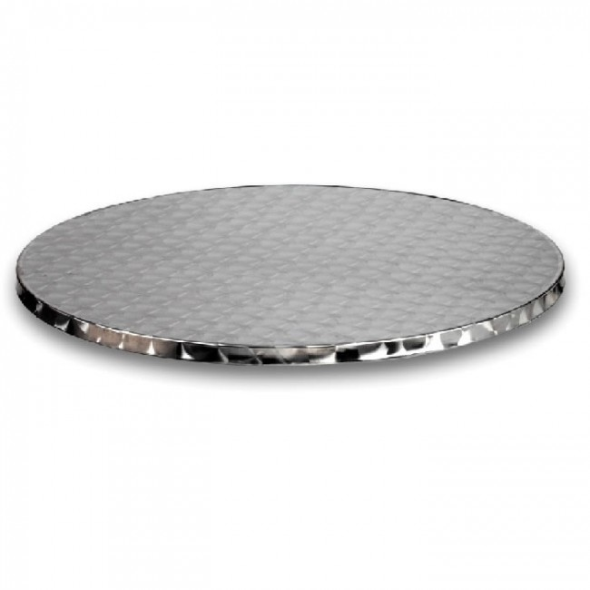 stainless steel table top 80cm round. Black Bedroom Furniture Sets. Home Design Ideas