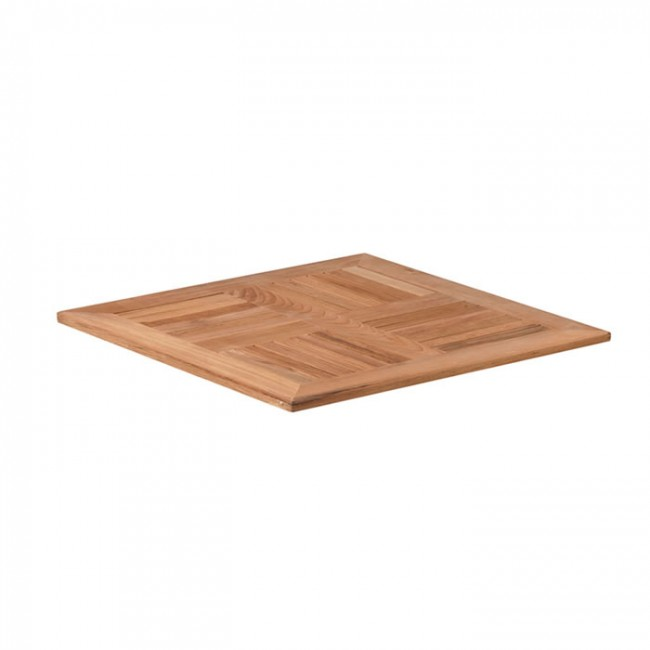 Solid Teak Table Top 60cm Square