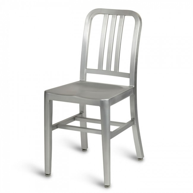 sc 1 st  Mayfair Furniture & Navy Side Chair - Anodized Aluminium