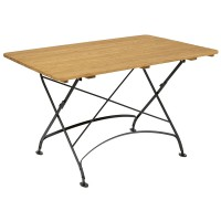 Cromer Rectangle Outdoor Folding Table 120x80cm