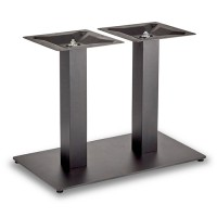 Trafalgar - Lounge Height Rectangle Twin Table Base (Square Column)