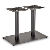 Trafalgar - Lounge Height Rectangle Twin Table Base (Round Column)