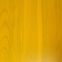 Golden Yellow Solid Wood Table Top 25mm Thick