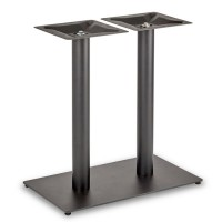 Trafalgar - Dining Height Rectangle Twin Table Base (Round Column)