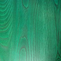 Light Green Solid Wood Table Top 25mm Thick