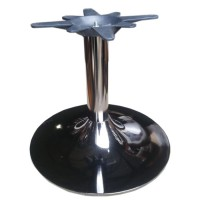 Small Polished Finish Table Base