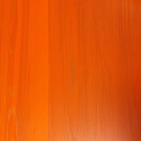 Orange Solid Wood Table Top 25mm Thick