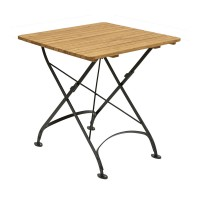 Cromer Square Outdoor Folding Table 60x60cm