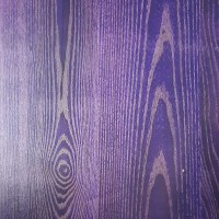 Purple Solid Wood Table Top 25mm Thick