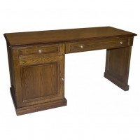 Traditional Desk Drawer With Side Cabinet