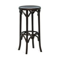 Bentwood High Stool - Walnut