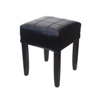 Black Covent Low Bar Stool