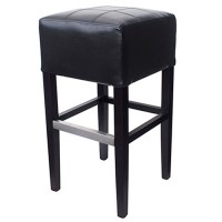Black Covent Bar Stool Without Back