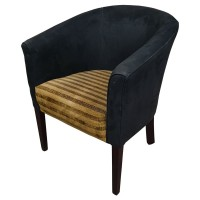 Used Modern Upholstered Tub Chair