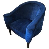 Large Blue Tub Chair