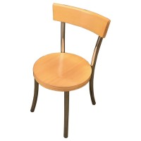 Used Cafe Chairs Round Seat