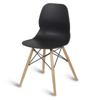 Camden Black Side Chair