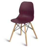 Camden Plum Side Chair