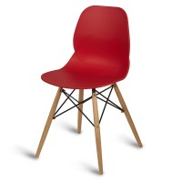 Camden Red Side Chair