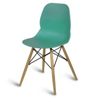 Camden Turquoise Side Chair