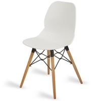 Camden White Side Chair
