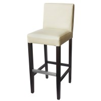 Cream Covent Bar Stool With Back