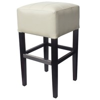 Cream Covent Bar Stool Without Back