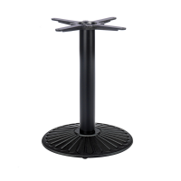 Crewe Round Coffee Height Table Base