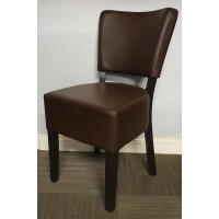 Belmont Side Chair - Dark Brown