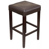 Brown Bar Stool Without Back