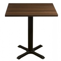 Walnut Complete Samson 60x50cm Table